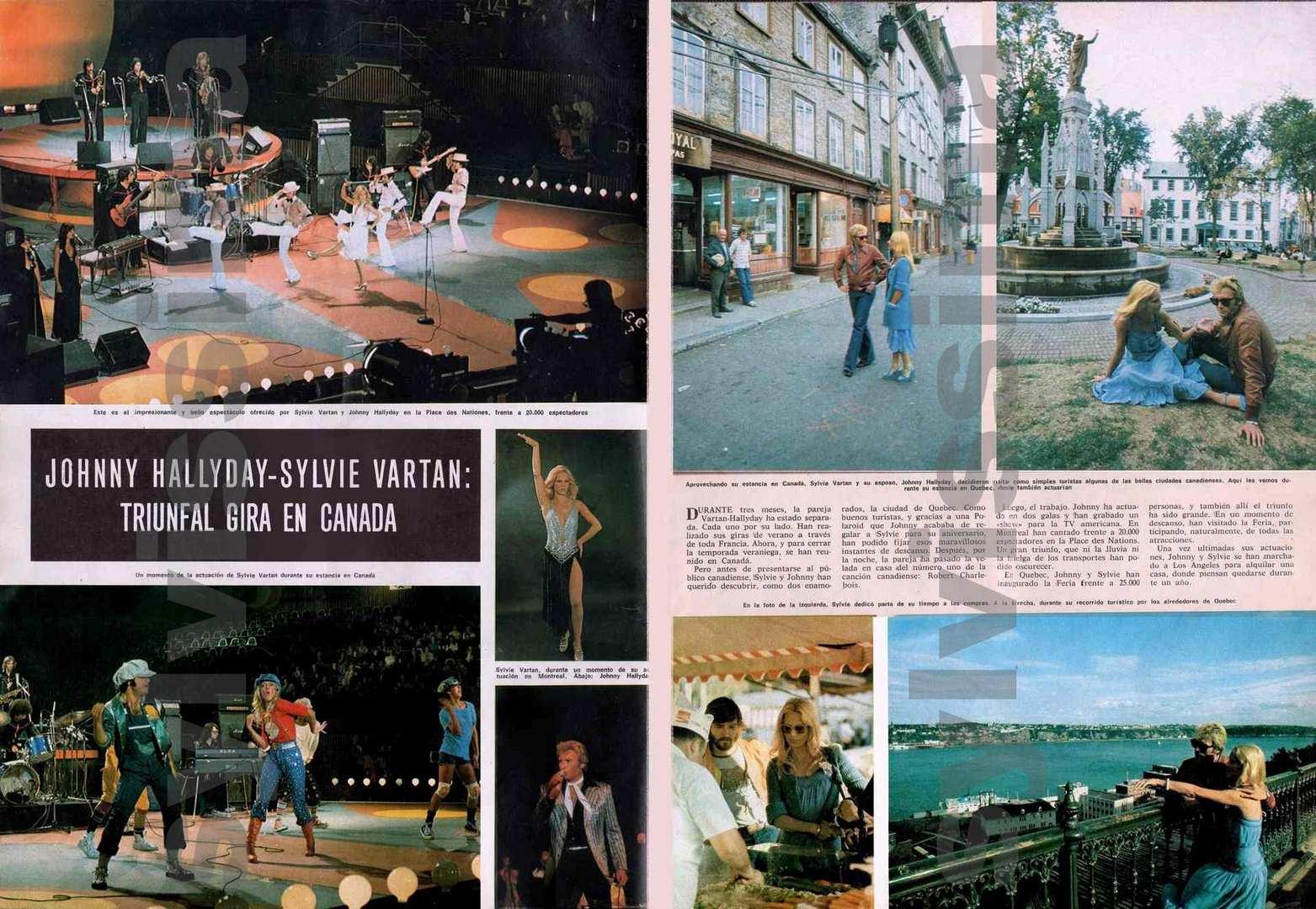 Sylvie vartan arrets sur images qu bec 1975 carnet de voyage quebec 197 - Acheter maison los angeles ...
